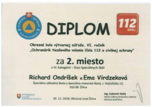 Diplom Súťaž Ochranárik