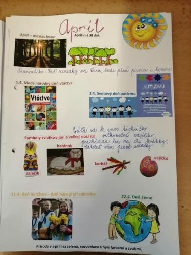 MAREC - mesiac knihy v ŠKD