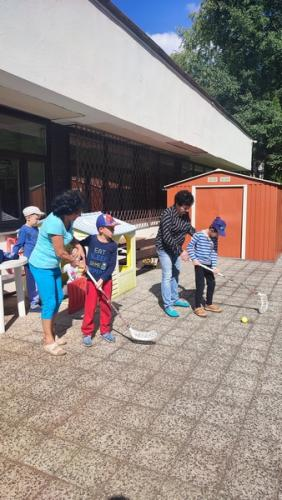 Športové popoludnie - uvítanie nových detí v ŠKD
