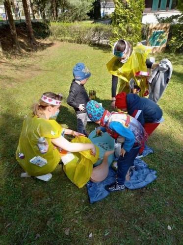 deti pomáhajú prírode
