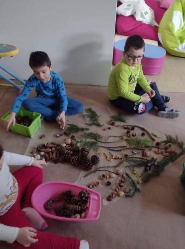 vytváranie plošného stromu na zemi