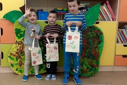 deti s vlastnými eko taškami