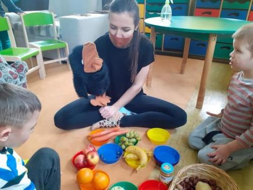 pomenovávanie zeleniny a ovocia